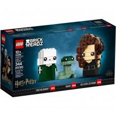 LEGO Brickheadz Harry Potter Voldemortas™, Nagini ir Belatriks 40496