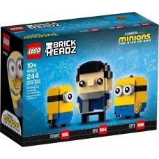 LEGO Brickheadz Minions Gru, Stuart ir Otto 40420