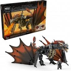 Mega Construx Game Of Thrones Daenerys and Dragon