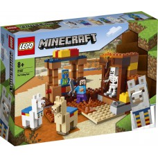 LEGO Minecraft 21167 Prekybos postas