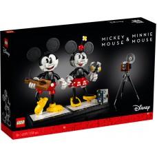 LEGO® ǀ Disney Peliuko Mikio ir Pelytės Minės konstruojami personažai 43179