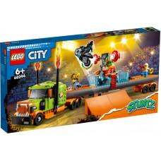 LEGO® City Kaskadininkų pasirodymo sunkvežimis 60294
