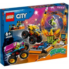 LEGO® City Kaskadininkų pasirodymo arenos 60295