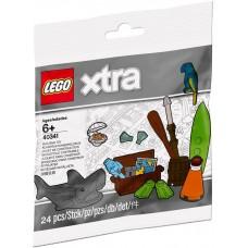 LEGO® Xtra Pajūrio aksesuarai 40341