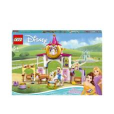LEGO® ǀ Disney Gražuolės ir Auksaplaukės karališkosios arklidės 43195