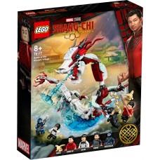 """LEGO® """"Marvel""""  mūšis senoviniame kaime 76177"""