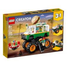 LEGO® Creator 3-in-1 Mėsainių sunkvežimis monstras 31104