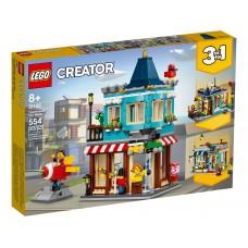 LEGO® Creator 3-in-1 Miestelio žaislų parduotuvė 31105