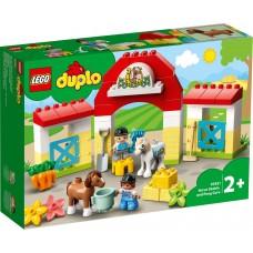 LEGO® DUPLO® Arklidės ir ponių priežiūra 10951