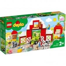 LEGO® DUPLO® Tvartas, traktorius ir ūkio gyvūnų priežiūra 10952