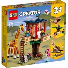 LEGO® Creator 3-in-1 Safario laukinių gyvūnų namelis medyje 31116
