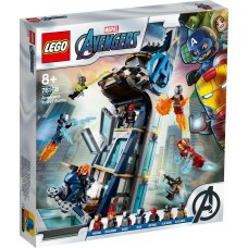 LEGO® Avengers Keršytojų bokšto mūšis 76166