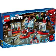LEGO® Spider-Man Voro urvo puolimas 76175