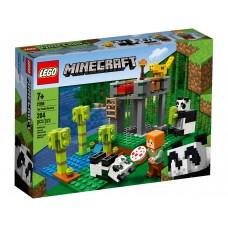 LEGO® Minecraft™ Pandų jauniklių darželis 21158