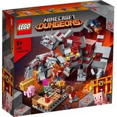 LEGO® Minecraft™ Raudonojo akmens mūšis 21163