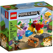 LEGO® Minecraft™ Koralinis rifas 21164