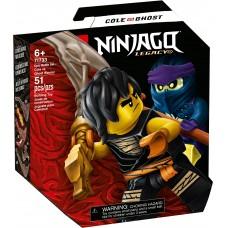 LEGO® NINJAGO® Epinio mūšio rinkinys – Cole prieš Karį vaiduoklį 71733