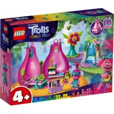 LEGO® Trolls World Tour Popytės namelis 41251