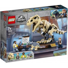 LEGO® Jurassic World  T. rex dinozaurų fosilijų paroda 76940