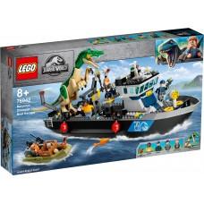 """LEGO® Jurassic World  """"Baryonyx"""" dinozaurų  pabėgimas iš laivo 76942"""