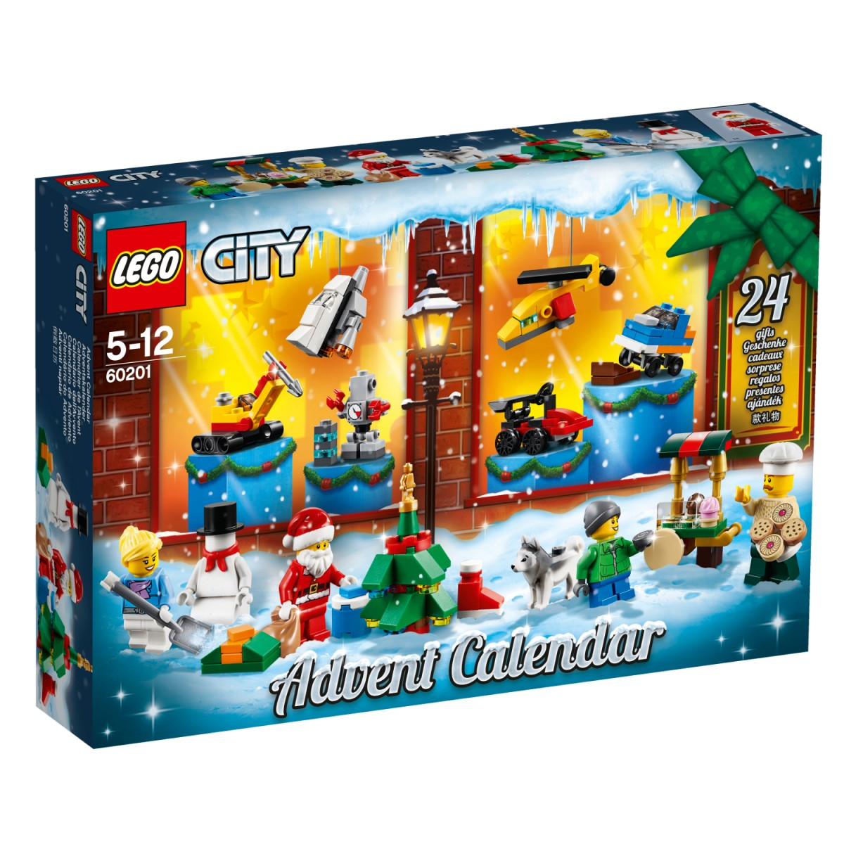 Calendrier City.Lego City Advento Kalendorius 60201