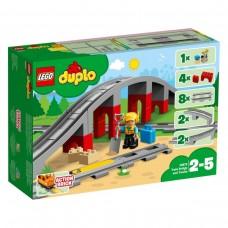 LEGO DUPLO Traukinių tiltas ir bėgiai 10872