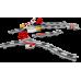 LEGO DUPLO Traukinių bėgiai 10882
