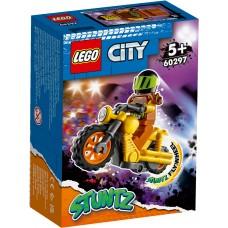 LEGO® City Kaskadininkų motociklas griovėjas 60297