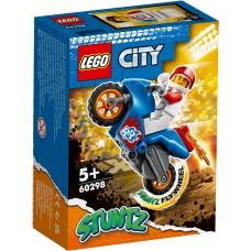 LEGO® City Raketinis kaskadininkų motociklas 60298