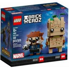 LEGO® BrickHeadz™  Groot & Rocket 41626
