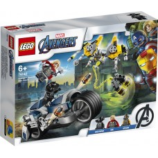 LEGO Marvel Avengers Greitaeigio Keršytojų motociklo ataka 76142