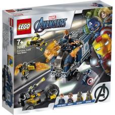 LEGO Marvel Avengers Keršytojų sunkvežimio užpuolimas 76143
