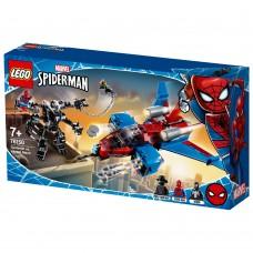 LEGO Marvel Spider-Man Spiderjet prieš Venomo robotą 76150