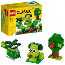 LEGO® Classic Žalios kaladėlės 11007