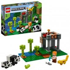 LEGO® Minecraft Pandų jauniklių darželis 21158