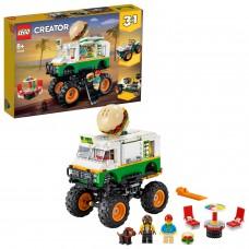 LEGO® Creator 3in1 Mėsainių sunkvežimis monstras 31104