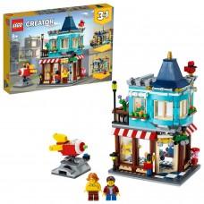 LEGO® Creator 3in1 Miestelio žaislų parduotuvė 31105