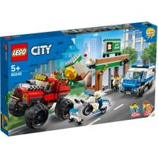 LEGO City Policijos sunkvežimio monstro apiplėšimas 60245