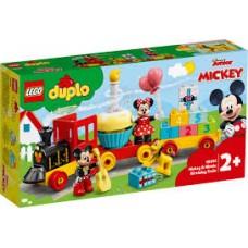 LEGO® DUPLO® ǀ Disney Mikio ir Minės gimtadienio traukinys 10941
