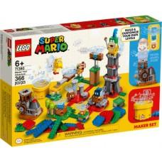 LEGO® Super Mario™ Įgusk konstruoti savo nuotykių kūrimo rinkiniu 71380