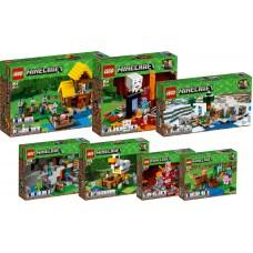 LEGO MINECRAFT I RINKINYS I 21138+21139+21140+21141+21142+21143+21144