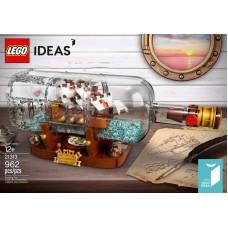 LEGO Ideas Exclusive I Laivas Butelyje I 21313