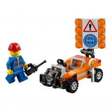LEGO CITY I Kelių darbinnkas I 30357