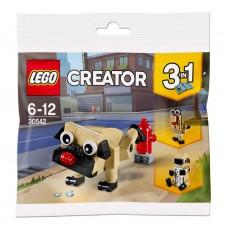 LEGO CREATOR I Cute Pug rinkinukas I 30542