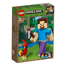 LEGO®  Minecraft™ BigFig Styvas su papūga 21148