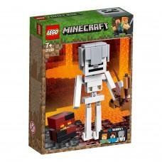 LEGO® Minecraft™ BigFig Skeletas su lavos kubu 21150