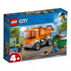 LEGO® City  Šiukšliavežė 60220 DEFORMUOTA PAKUOTĖ (Detalės sveikos)