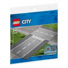 LEGO® City Tiesi atkarpa ir T formos sankryža 60236