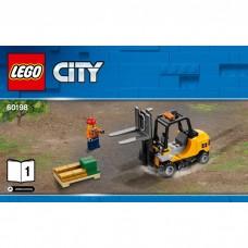 LEGO City Krovininio traukinio autopakrautuvas 60198