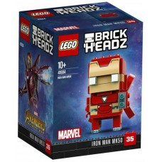 LEGO Brick Headz I  Geležinis žmogus MK50 I 41604